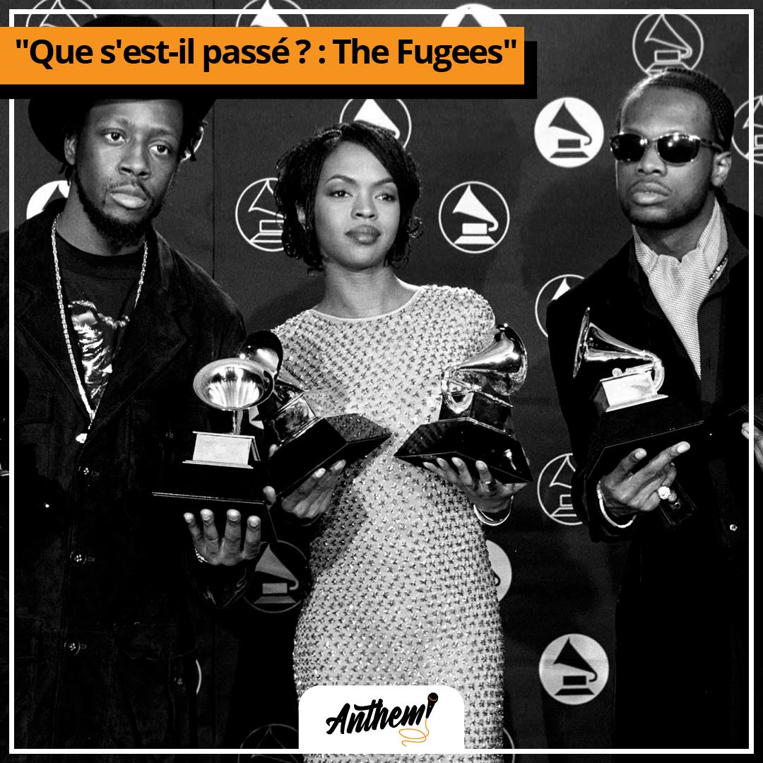 The Fugees rap séparation Lauryn Hill enceinte rupture dissolution killin softly